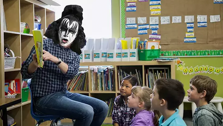 6 Rockers Who Used To Be Teachers (And What They Looked Like Teaching) | iHeartRadio