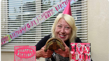 BC - Tommy The Tortoise, The World's Oldest Living Pet, Turns 121