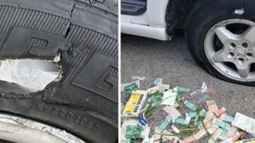 Lynchburg-Roanoke Local News - California man arrested for trying to fix flat tire with a first aid kit