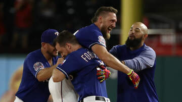 Sports Desk - Rangers Rally, Walk-Off Angels