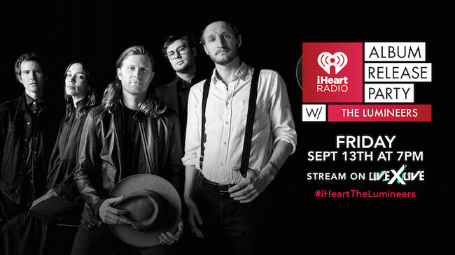 iHeartRadio Album Release Party with The Lumineers