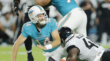 The Greek - Miami Dolphins Name Fitzpatrick Starting QB over Rosen