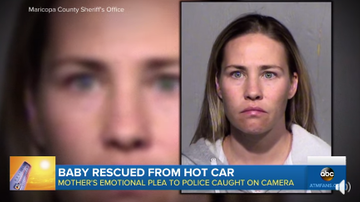Beth Bradley -  Arizona mom charged after she left her 5-month-old child in a car.