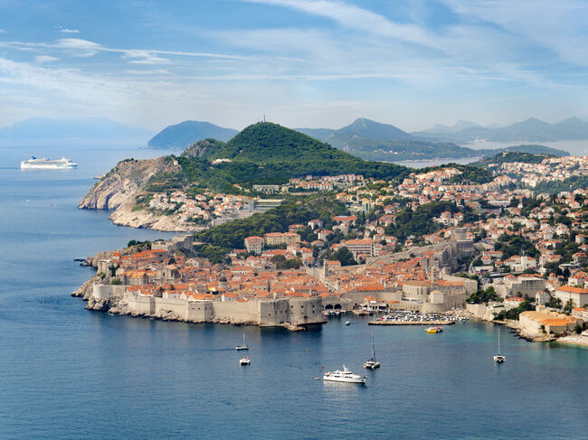 View of Old Dubrovnik on the Adriatic Coast  (Getty Images)