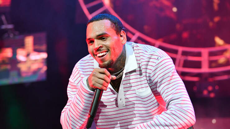 Chris Brown Trolled For His New Face Tattoo Of A Shoe Real 92 3
