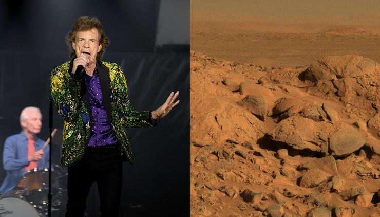 The Rolling Stones, NASA Announce Unique Mars Rock Honor | iHeartRadio
