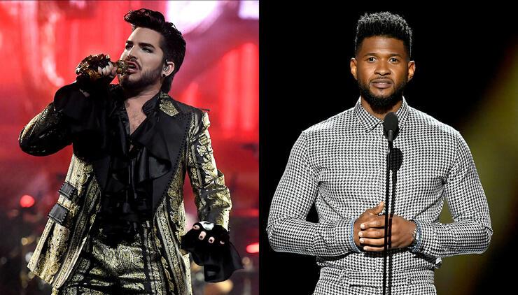 Adam Lambert, Usher Among Celebrities Robbed In Realtor's Burglary Scheme | iHeartRadio
