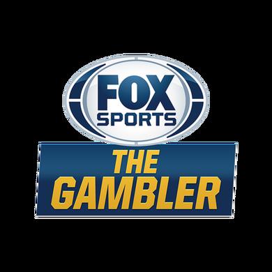 "Fox Sports ""The Gambler"" logo"