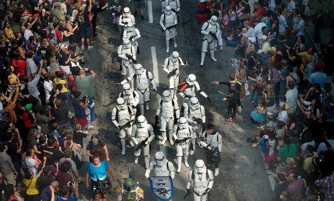 Star Wars Storm Troopers match in the Dr