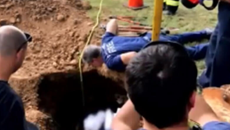 Firefighters Rescue Woman Stuck In Septic Tank For Days | iHeartRadio