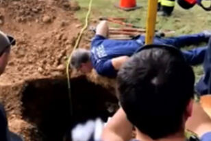 Firefighters Rescue Woman Stuck In Septic Tank For Days