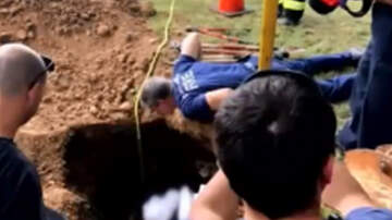 National News - Firefighters Rescue Woman Stuck In Septic Tank For Days