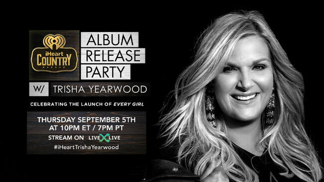 Trisha Yearwood to Celebrate 'Every Girl' with Album Release Party