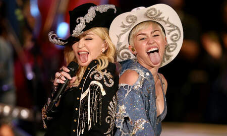 Trending - Madonna Praises Miley Cyrus For Addressing Liam Hemsworth Infidelity Rumors