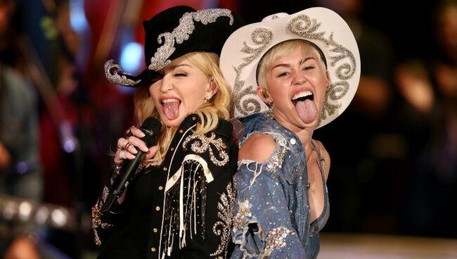 Madonna Praises Miley Cyrus For Addressing Liam Hemsworth Infidelity Rumors