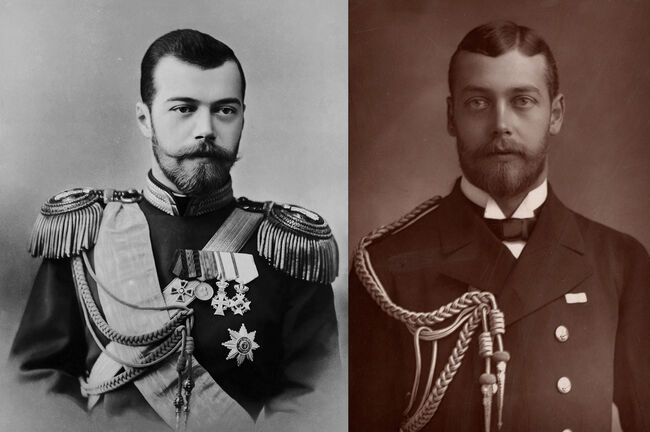Portrait of Czar Nicholas II
