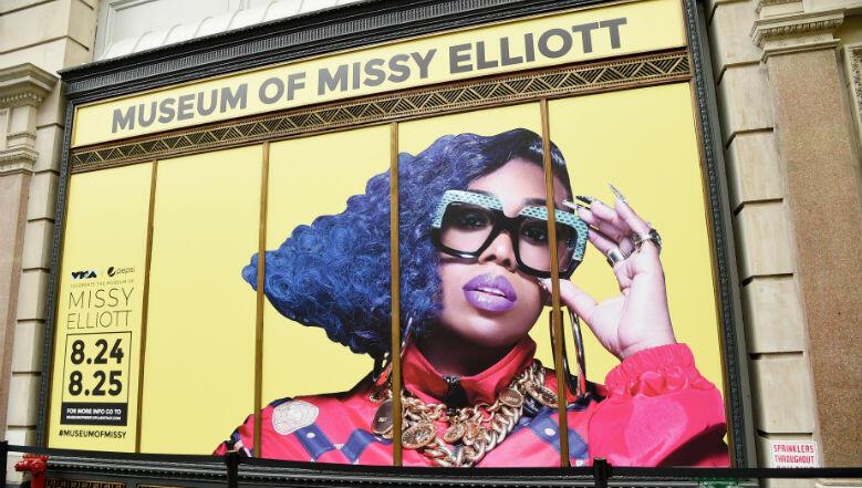 MTV Celebrates Video Vanguard Recipient Missy Elliott With NYC Museum