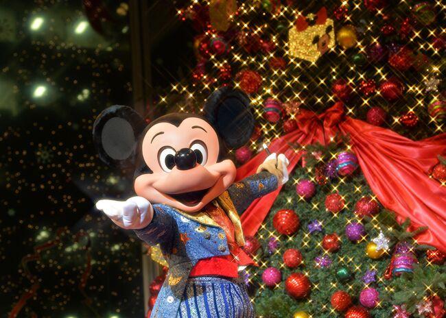JAPAN-DISNEY-CHRISTMAS