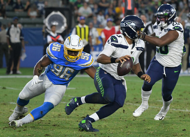 Seatle Seahawks v Los Angeles Chargers