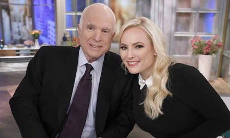 Entertainment News - Meghan McCain Remembers Late Father John McCain's Death One Year Later