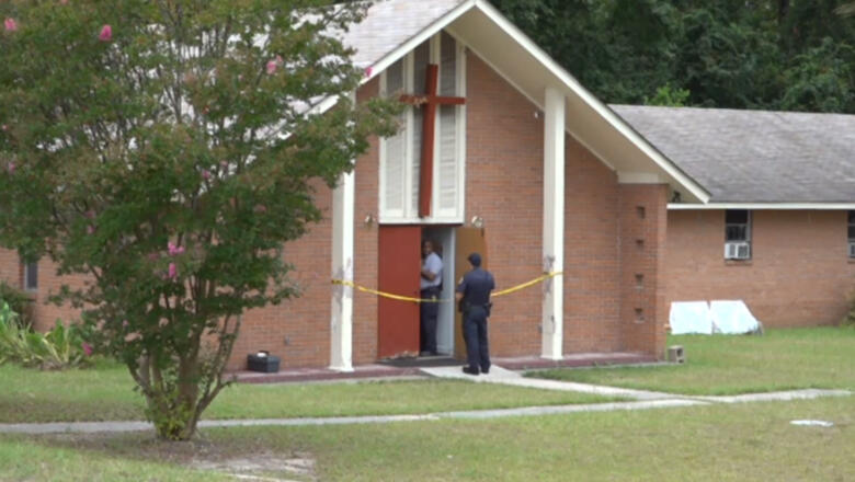Armed Man Shoots Worshipper During Church Robbery | iHeartRadio