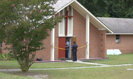 National News - Armed Man Shoots Worshipper During Church Robbery