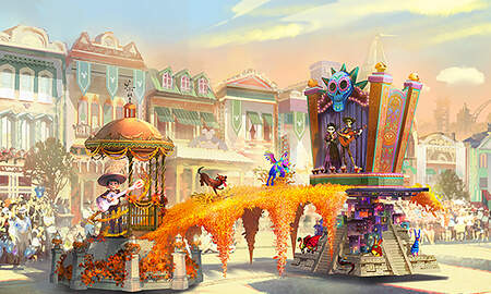 Entertainment News - Disneyland's New Parade 'Magic Happens' To Debut Spring 2020