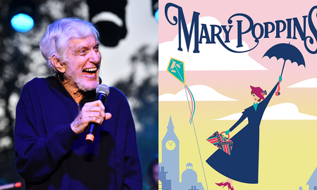 Entertainment News - Dick Van Dyke Announces 'Mary Poppins' Epcot Attraction At D23 Expo