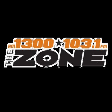 AM 1300 The Zone logo