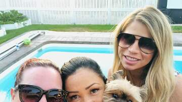 Frankie and Jess - Thank you Shawna Kim Tollestrup for a fun pool day and movie night -Jess