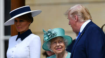 VB in the Middle - Queen Elizabeth II upset POTUS Trump ruined her lawn at Buckingham Palace