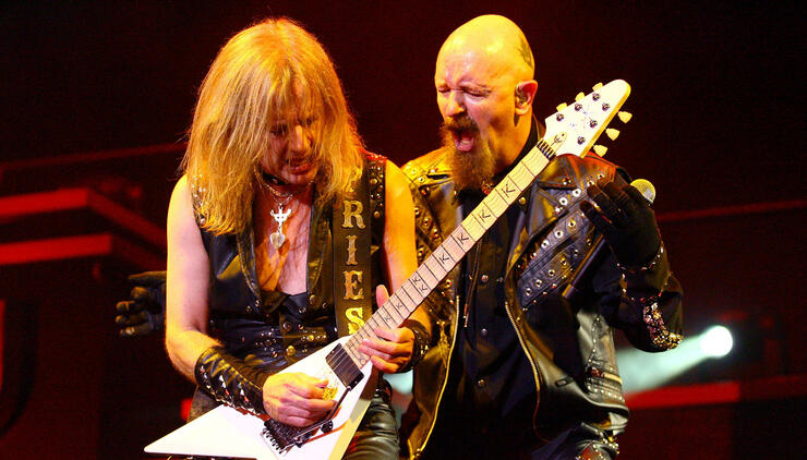 Judas Priest Play Brisbane