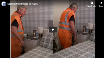 Brodie - Man with Thick Scottish Accent Attempts Alexa