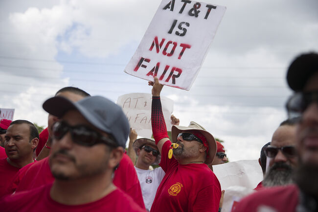 20,000 AT&T Workers Across The Southeast Go On Strike Over Unfair Labor Practices