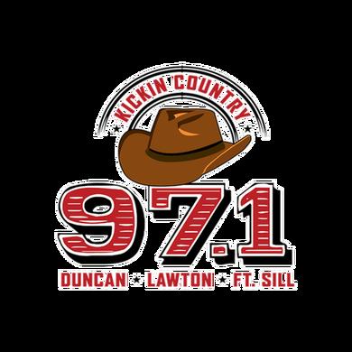 Kickin Country 971 logo