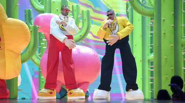 iHeartRadio Spotlight - J Balvin & Bad Bunny's VMA Performance Was A Trip Down The Rabbit Hole