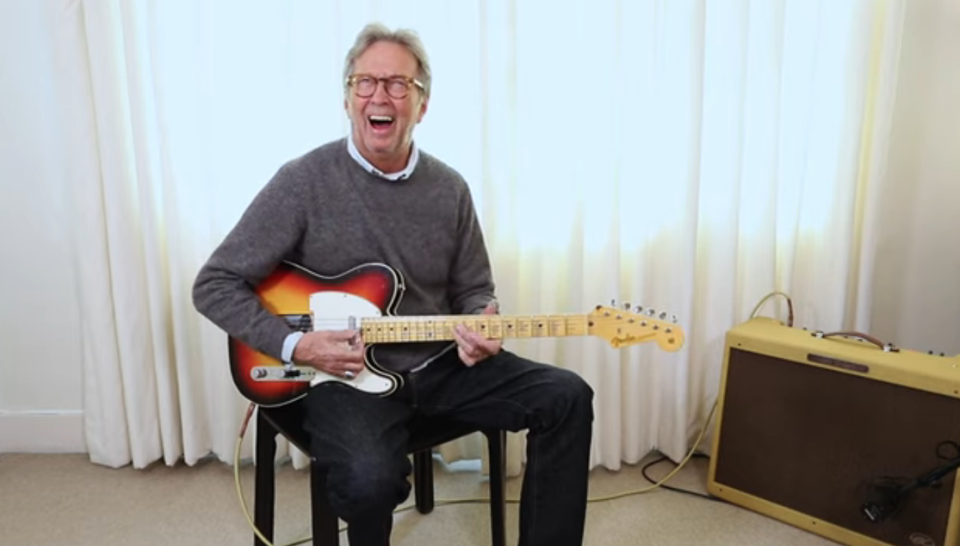 Watch Eric Clapton's First Impressions Of Recreated Blind Faith Guitar