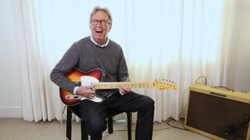 Jim Kerr Rock & Roll Morning Show - Watch Eric Clapton's First Impressions Of Recreated Blind Faith Guitar