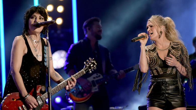 Carrie Underwood & Joan Jett Tease Sunday Night Football Theme Song