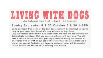 None - Living With Dogs Interactive Pet Education Series at Bear's BBQ