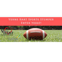 Listen and Win to the Verne Hart Sports Stumper