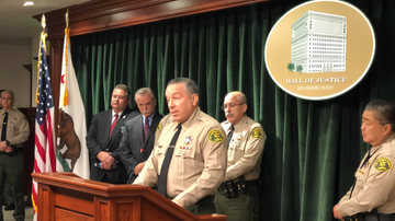 image for L.A. County Sheriff's Deputy Accused of Lancaster Sniper Hoax Fired