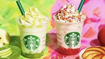 Reid - Starbucks Has Two New 'Apple Frappuccinos' & They Look So Good