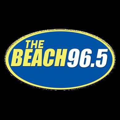 The Beach 96.5 logo