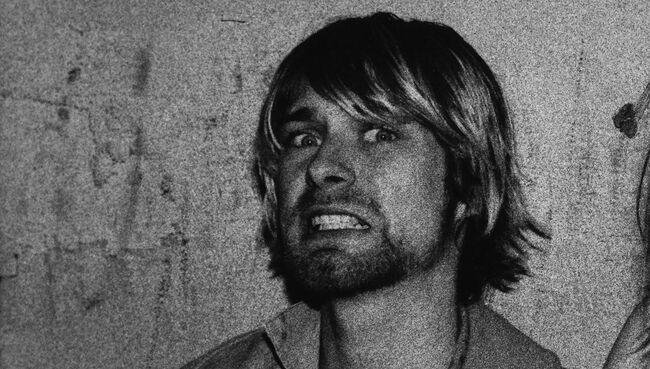 Kurt Cobain And Courtney Love