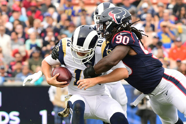 Houston Texans v Los Angeles Rams