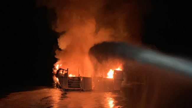 Several Dead in Boat Fire Off Coast of Southern California