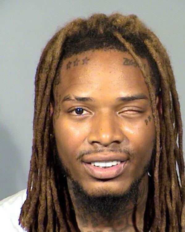 Rapper Fetty Wap Booking Photo