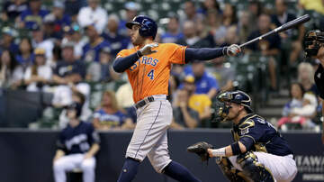 None - Astros Edge Brewers In 10 Innings