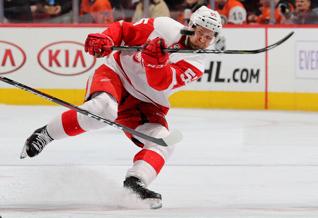 Detroit Red Wings v Philadelphia Flyers